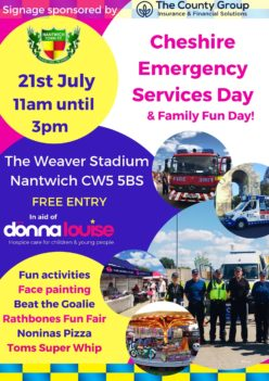 Cheshire Emergency Services Day