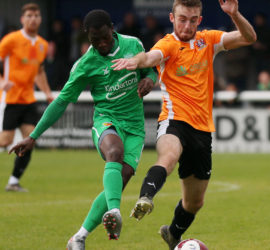Second-half - Prince Haywood fights for the ball