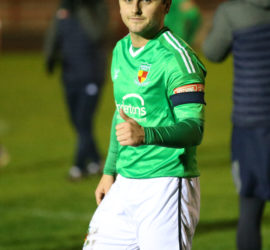 Full-time - captain Caspar Hughes made his 200th appearance for the Dabbers